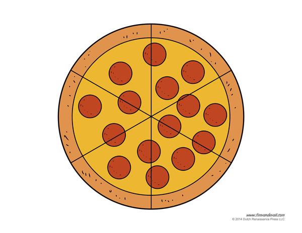 Pepperoni Pizza Craft