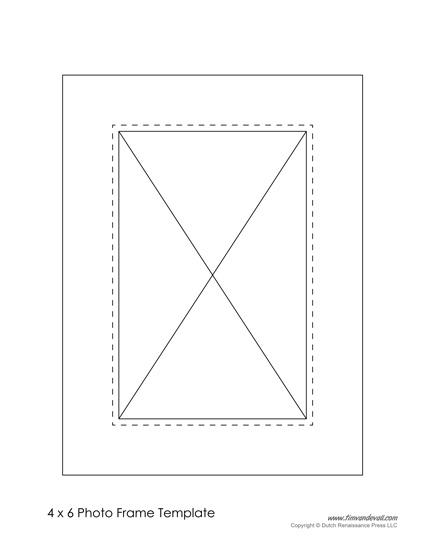 Free Photo Frame Templates - Make Your Own Photo Frame