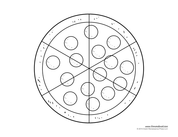 pizza coloring pages Tims Printables
