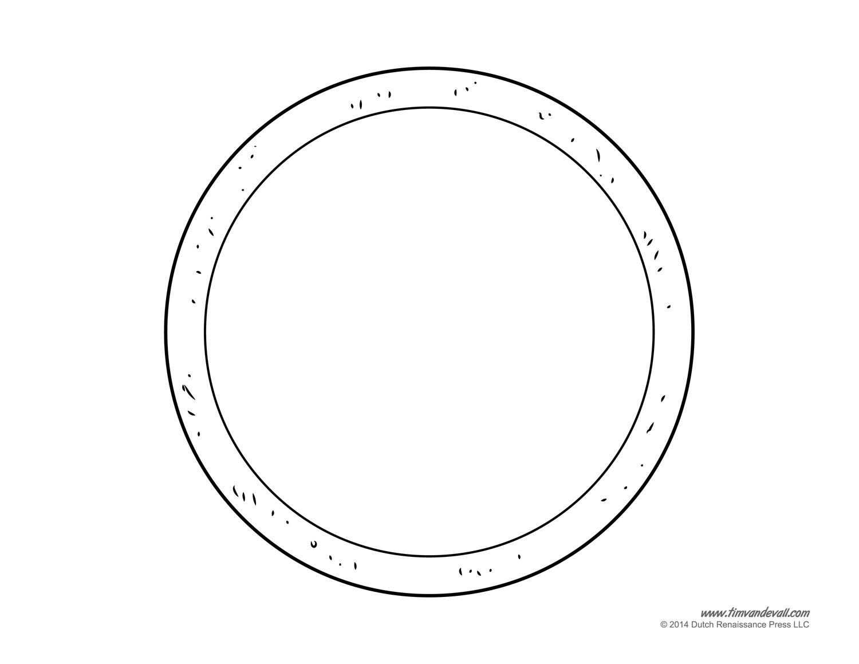 Pizza Slice Template Printable