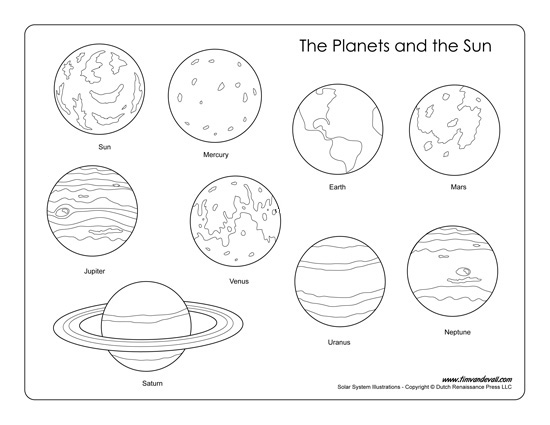 Solar system diagram learn the planets in our solar system planets in our solar system ccuart Gallery