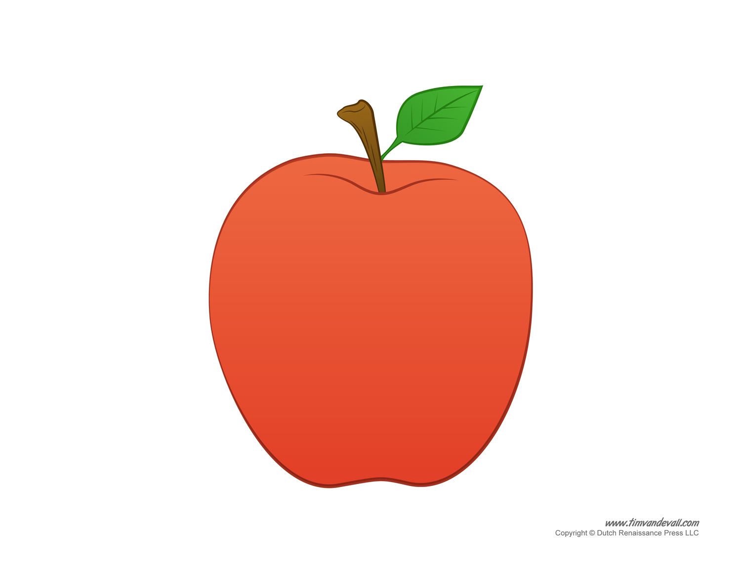 photo regarding Apple Pattern Printable named Printable Apple Templates toward Generate Apple Crafts for Preschool