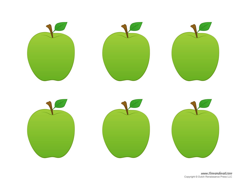 Яблоки картинки цветные для вырезания