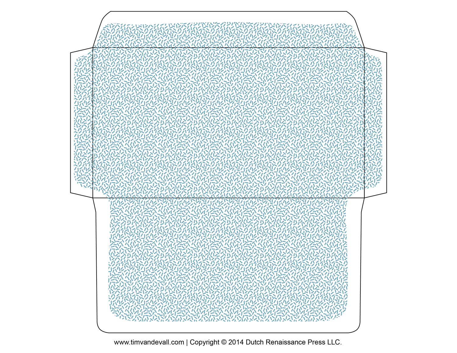 printable-envelope-template – Tim's Printables