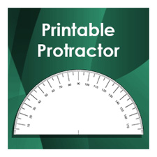 photo about Printable Protractor Pdf identified as Printable Ruler PDF for Pupils and Academics - Tims Printables