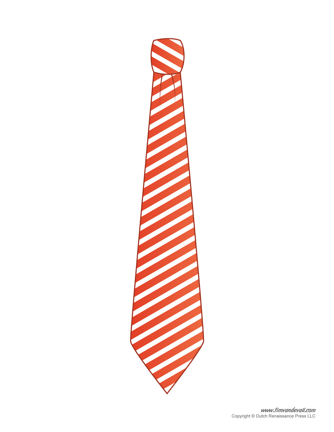 paper tie templates for kids printable tie template