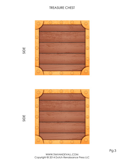 treasure chest template