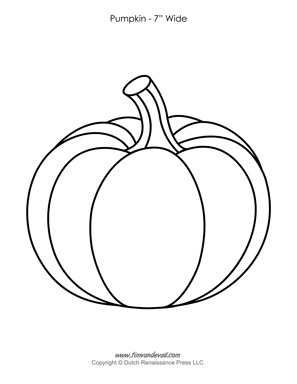 Pumpkin Templates Paper Pumpkins Printables For