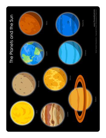 solar system alphabet - photo #40