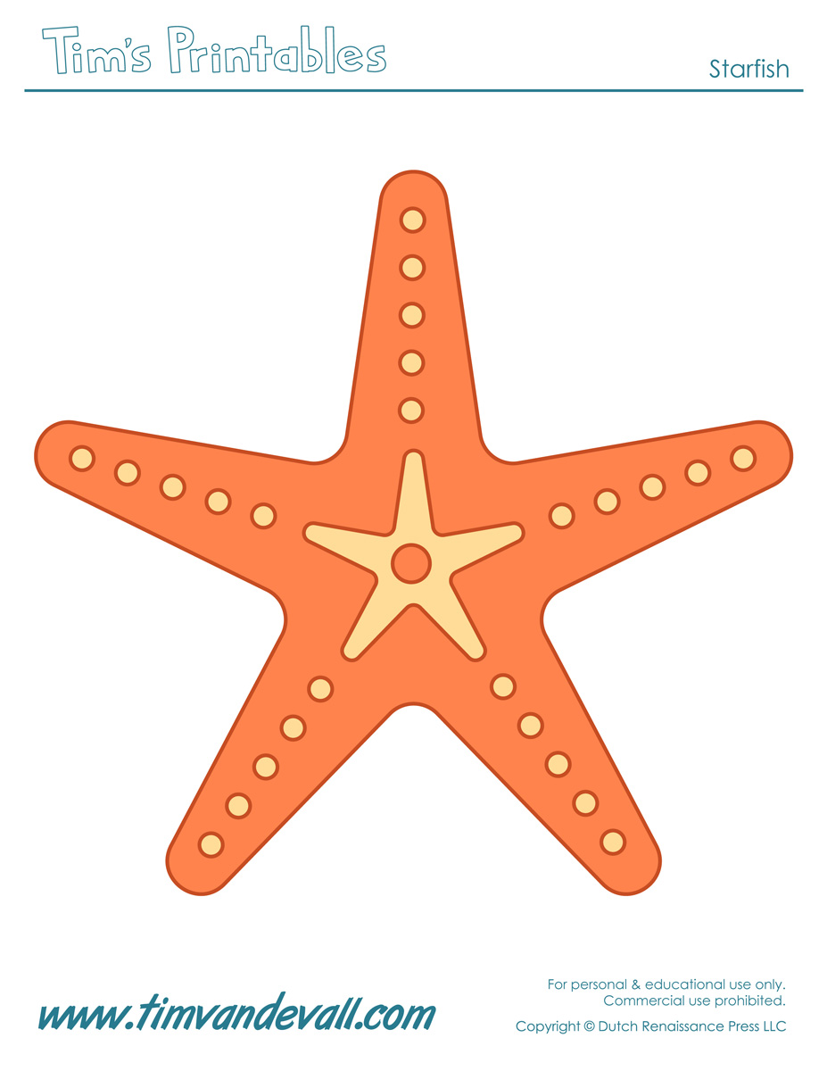 Marvelous Starfish Template Sea Star Templates For Preschool Art Download Free Architecture Designs Scobabritishbridgeorg