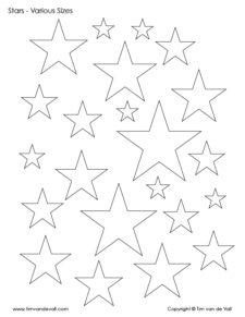 stars to print