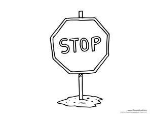 Stop Sign Template - Tim van de Vall