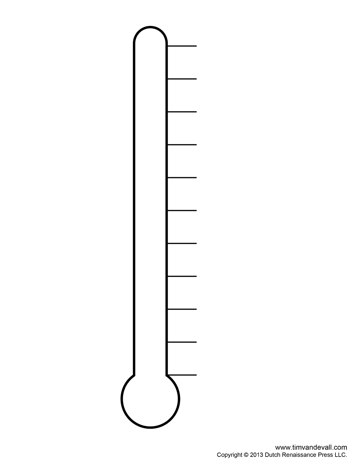 Fundraising thermometer templates for fundraising events for Free fundraiser thermometer template