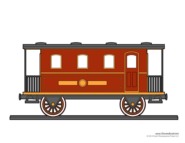 train party printable
