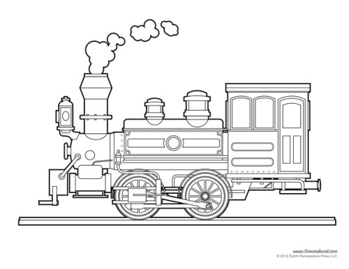 This is a graphic of Adorable Free Printable Train Template