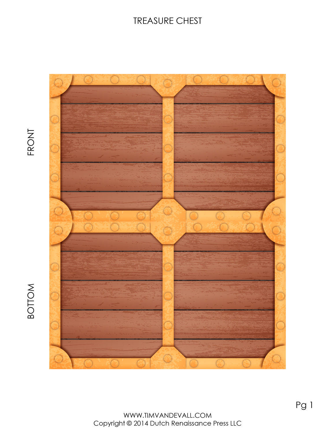 image about Printable Treasure Chests known as Pirate Treasure Upper body Template Deliver Your Private Paper