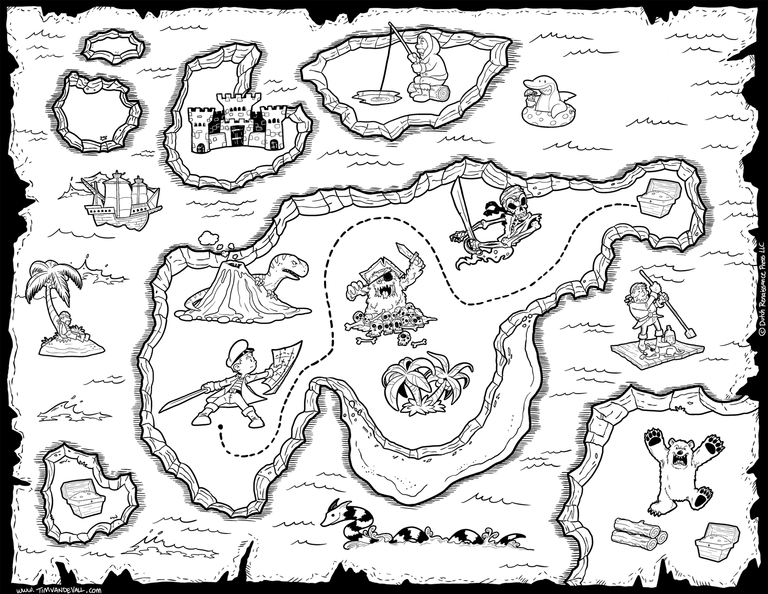 maps coloring pages free pirate treasure maps for a pirate birthday party