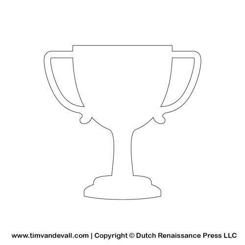 tim van de vall trophy silhouette stencil