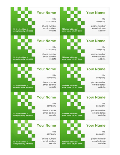 Business card template word fbccfo Gallery